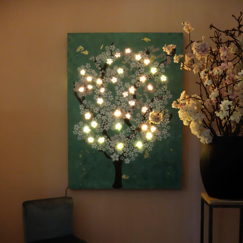 LvW Bright Art Bloesem schilderij